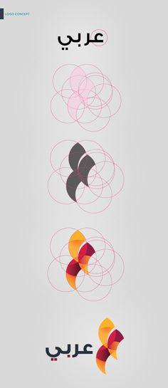 Arabi Brand Identity by Nemo Come Back, via Behance Arabi Brand Identity by Nemo Come Back, via Behance Graphic design & logos Design Logo, Design Poster, Identity Design, Brand Identity, Typography Logo, Logo Branding, Calligraphy Logo, Arab Logo, Create Logo