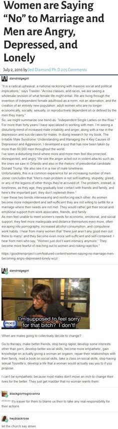 I bet a lot of this has to do with social pressures on men. Things that feminist teachings and better sex ed could eliminate. Intersectional Feminism, Patriarchy, Equal Rights, Social Issues, Social Skills, Forever, Faith In Humanity, My Tumblr, Social Justice
