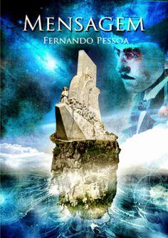 """Capa do livro """"Mensagem"""" de Fernando Pessoa."""