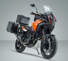 German motorcycle engineering specialists, SW Motech, have introduced a comprehensive range of model-specific accessories for KTM's new 1290 Super Adventur