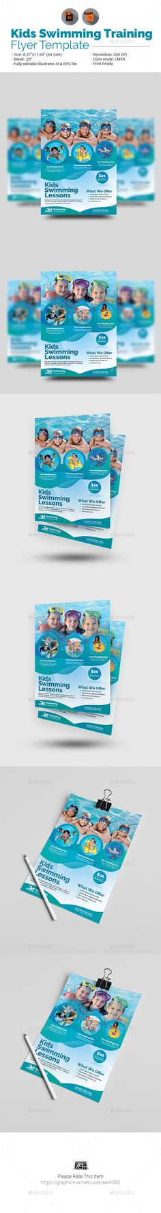 pool service flyers. Kids Swimming Training Flyer By Aam360 Similar Templates:INFORMATIONS FOR THIS FLYER:FEATURES: Pool Service Flyers A