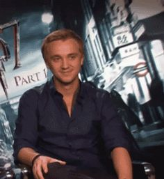 Tom Felton. The eyebrows!! XD