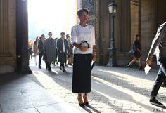 Street Style: Paris Fashion Week Spring 2014 Part Two -
