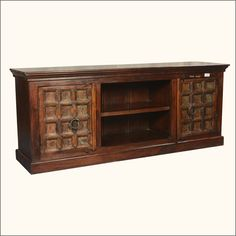 Forever Gothic Mango & Reclaimed Wood Media Cabinet TV Console