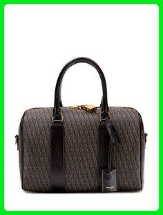 78f0b5ad339d Classic 6 Toile Monogram Printed Canvas Duffle Bag from Saint Laurent  Handbags