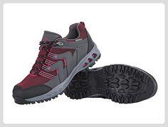 Damen Trekkingschuhe Trekking Schuhe pink/grau (38) - Sportschuhe für  frauen (*