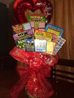 """Valentines day gift for my boyfriend! """"I won the lottery when I met you"""""""