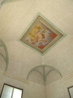Diana e Apollo nella volta della stanza sud-est.