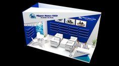 Nippon Motors Exhibition Design for Automechanica Dubai. Exhibition Stall, Exhibition Booth Design, Exhibit Design, Web Banner Design, Pop Up Shops, Convention Centre, Store Design, Marketing, Dubai