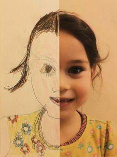 Half Self Portraits