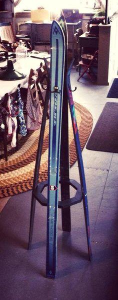 RePurposed Ski Coat Rack.... by RusticaINNOVATIONS on Etsy, $198.00