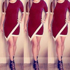 Sexy package hip mini dress SF7410JL