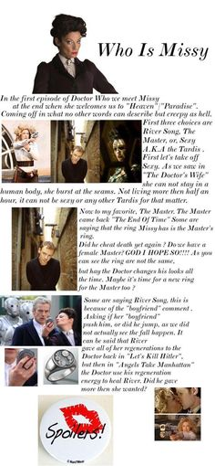 Who Is Missy? There are also theories that she could be Susan....