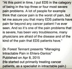 EDS Pain | Chronic Pain | Ehlers-Danlos Syndrome