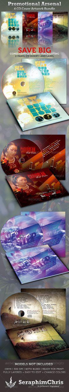 Promotional Arsenal CD Cover Artwork Bundle Vol. 1, for $16.00 on Graphicriver
