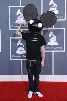 The most outrageous outfits in Grammys history: deadmau5, 2012