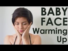 Face Diet : 1. Baby Face WARMING UP #iHealthiness - YouTube Muscle Stretches, Neck Exercises, Reflexology Massage, Face Yoga, Shoulder Muscles, Sagging Skin, Beauty Inside, Hygiene, Facial Care