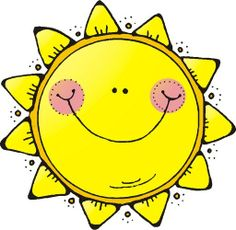 Sun on good morning sunshine lesson planning and free clip art - Clipartix Good Morning Sunshine, My Sunshine, Dj Inkers, Sun Moon Stars, Spring Activities, Rock Art, Coloring Pages, Creations, Doodles