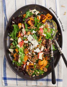 Farmhouse farro salad