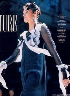 Yasmin Le Bon: Chanel, 1993