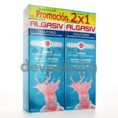 Algasiv colutorio 2x 500ml promo