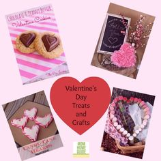 Check out these great Valentine's Day treats and crafts! (A Little Bit of Everything Link Up Party Favorites!)