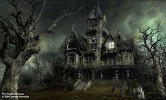 69 + Great Halloween Haunted House Decor Ideas With Halloween Haunted Images Halloween Sound Effects, Halloween Sounds, Scary Halloween, Happy Halloween, Halloween Haunted Houses, Haunted Mansion, Halloween House, Spooky House, Most Haunted Places
