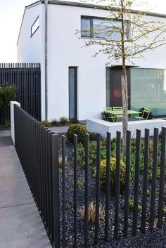 design garden fence- design gartenzaun - ammersee, bavaria, Garten und Bauten