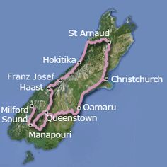"""""""Weka"""" cycling tour of New Zealand's south island, compliments of Active New Zealand"""