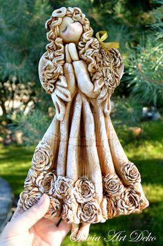 Oliwia Art Deko: Anioły naturalne i trochę zaległości