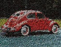 Image result for lobster made out of bottle caps