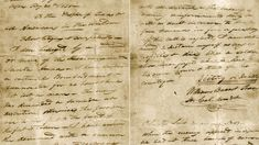 """This undated image provided by the Texas State Library and Archives Commission shows a portion of the """"victory or death"""" letter written by William Barret Travis from the Alamo on Feb. Vintage Flag, Tug Of War, American Frontier, Flags Of The World, Historical Photos, Cabins, Victorious, Death, Texas"""
