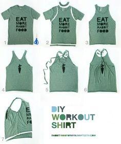 t shirt diy | Trending Topic: DIY T-shirts - WorldFashionBlogs.com