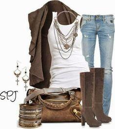 More great outfit ideas!  More great outfit ideas!  More great outfit ideas!  More great outfit ideas! ...