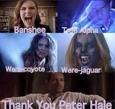 Image de teen wolf, peter hale, and banshee