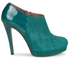 Fericelli green suede 'Zevaza' shoe boots One of the new fall fashion colors!!!