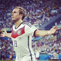 Götze⚽ #worldcup2014 #germany