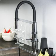 Smart hybrid faucet for increased comfort in the kitchen Smart Home Design, Oras, Home Appliances, House Design, Faucets, Kitchen, Home Decor, Products, House Appliances