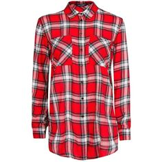 MANGO Plaid cotton shirt ($30) ❤ liked on Polyvore featuring tops, blouses, shirts, camisas, red, plaid shirt, tartan shirt, red blouse, plaid top и red tartan shirt