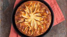 Apple-yoghurt pie with no added sugar (Dutch recipe) Good Healthy Recipes, Healthy Baking, Sweet Recipes, Healthy Snacks, Go For It, Happy Foods, Sugar Free Recipes, High Tea, No Bake Cake