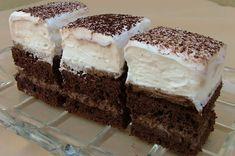 Nadýchaný kakaovo-šlehačkový koláček | NejRecept.cz Sweet Desserts, Desert Recipes, Vanilla Cake, Nutella, Tiramisu, Rum, Baking, Ethnic Recipes, Basket