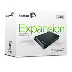 "Seagate STBV2000200 - Disco duro externo de 2 TB (USB 3.0, 3.5""), negro: SEAGATE: Amazon.es: Informática"