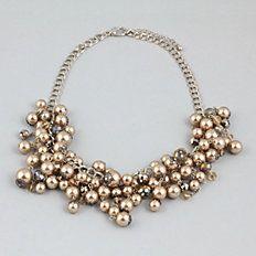 Royalty Short Cluster Necklace