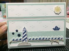 My Cardbox version of the card in Seasonal Expressions. Close To My Heart - Regatta⚓️