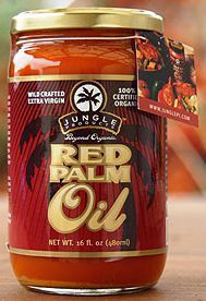 Red Palm Oil... This is a highly saturated vegetable fat (like avocados), and you cook with it... Palm fruit oil (good for you) contains mainly palmitic and oleic acids and is only 50% saturated... Palm kernel oil (not good) contains mainly lauric acid and is more than 89% saturated)... also, harvesting palm kernel oil destroys trees and natural habitats anyway (so don't buy that)... red palm oil contains more carotene than carrots... and more lycopene than tomatoes... also lots of vitamin…