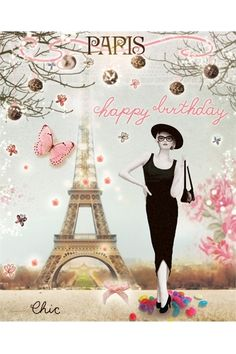Happy Birthday wishes Happy Birthday Paris, Happy Birthday Quotes, Happy Birthday Images, Happy Birthday Greetings, Birthday Messages, Birthday Pictures, Birthday Fun, Birthday Cards, Happy B Day