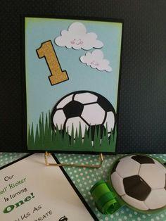 Handmade Soccer invitations