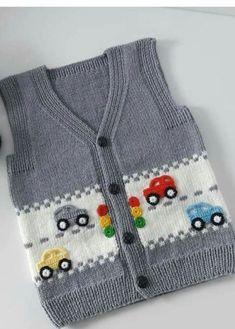 KABARTMALI BEBEK YELEĞİ - Erkek Bebek Yeleği Yapılışı / Knit Baby Vest Knitting , lace processing is the most beautiful hobbies that females are unable to give up. Knitted Baby Cardigan, Knit Vest, Easy Knitting, Knitting Socks, Baby Boy Knitting Patterns, Vest Pattern, Lace Patterns, Baby Sweaters, Crochet Clothes