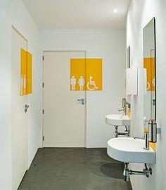 Wayfinding Signage, Signage Design, Hospital Signage, Office Branding, Hospital Design, Changing Room, Interior Decorating, Interior Design, Aesthetic Bedroom