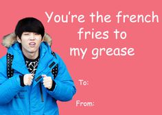 344 Best K Pop Valentine S Cards Images On Pinterest Valentine